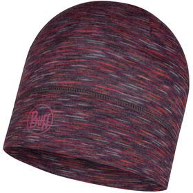 Buff Lightweight Merino Wool Casquette, shale grey multi stripes